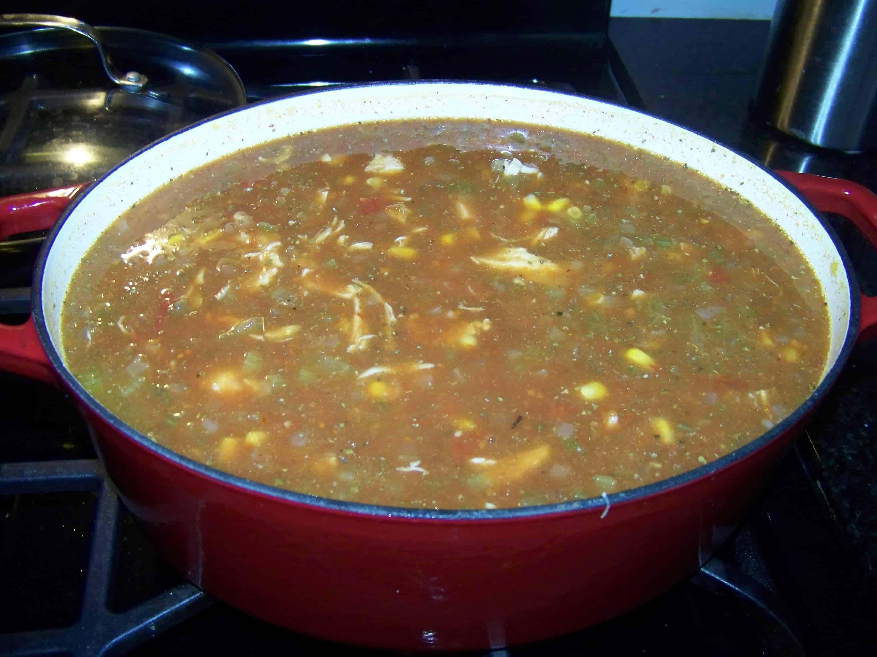 Super Super Bowl Chicken Vegetable Stew