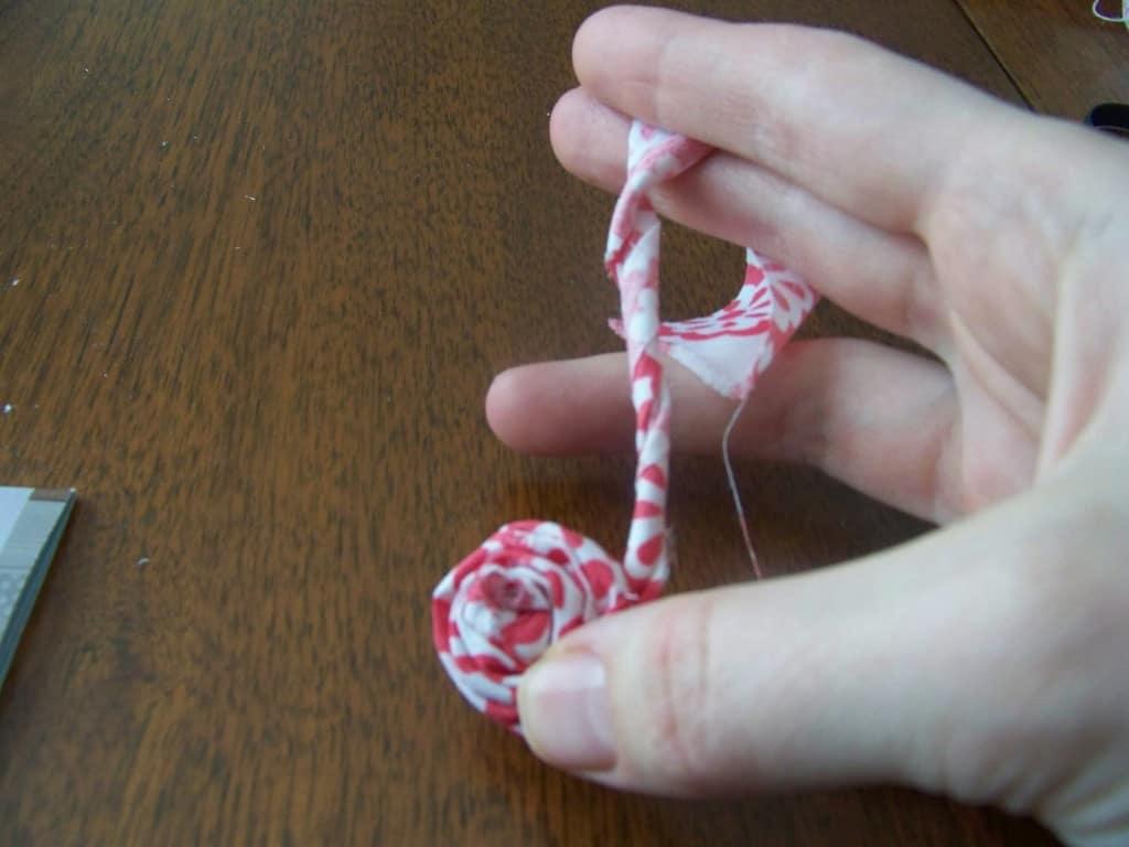 fabric flower head band 2