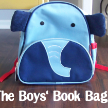 Boys book bag