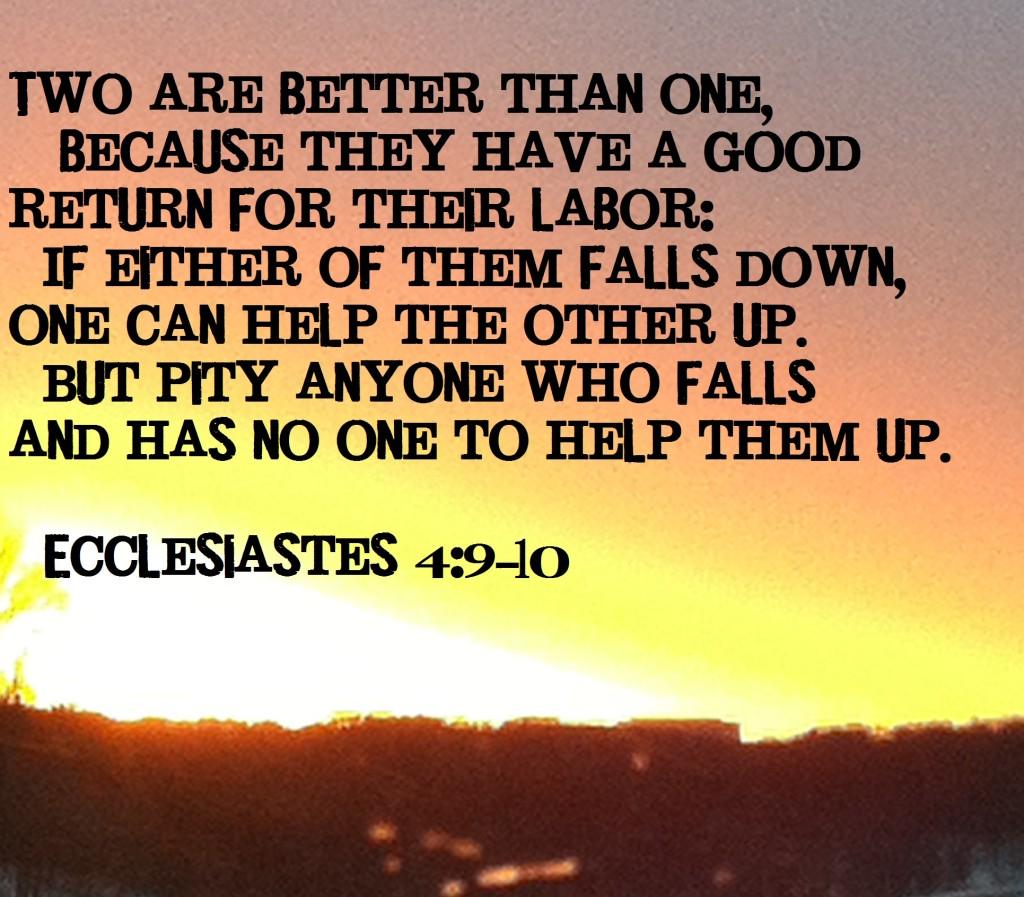 ecclesiastes 4 friendship