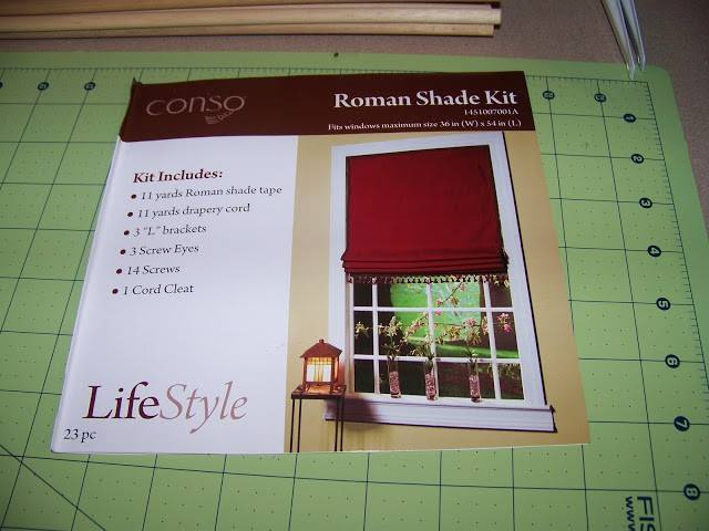 Conso Roman Shade Kit Review