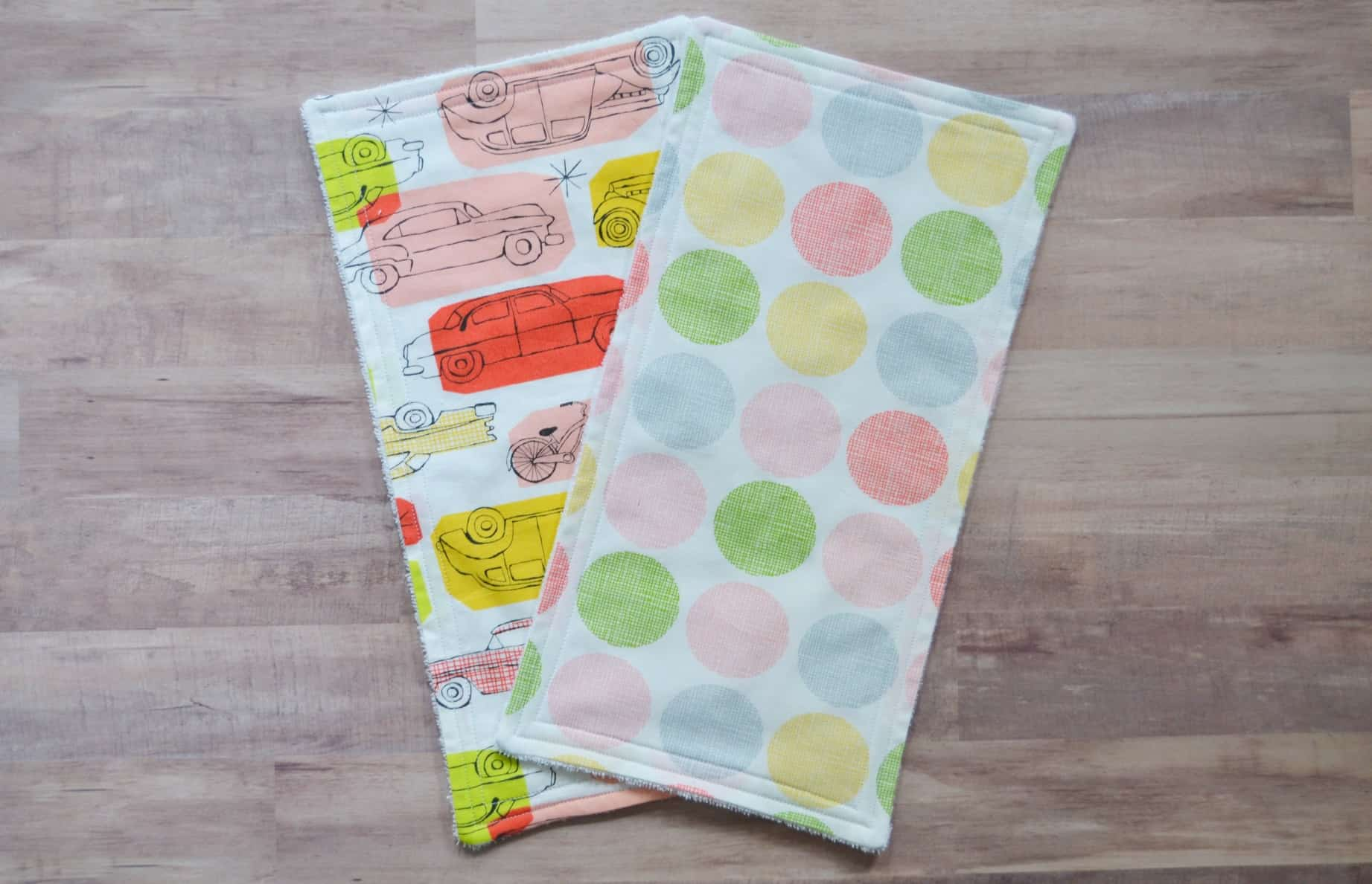 diy burp cloth tutorial