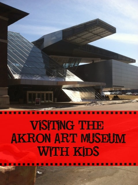 visiting akron art museum with kids 2