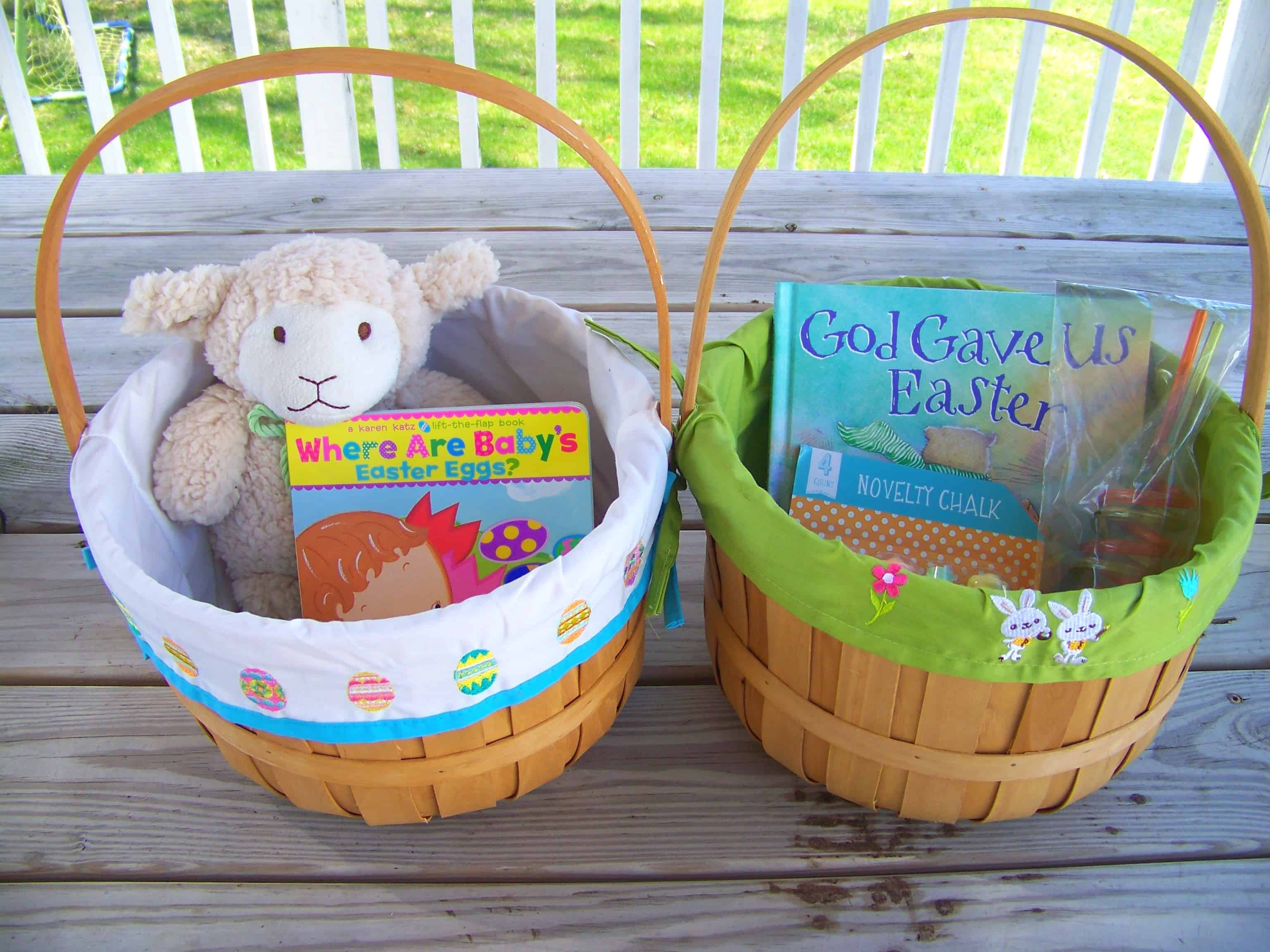 Easter baskets mary martha mama boys easter baskets negle Images
