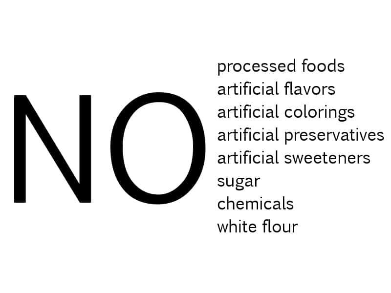 daniel diet no no