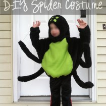 diy spider costume with text featured
