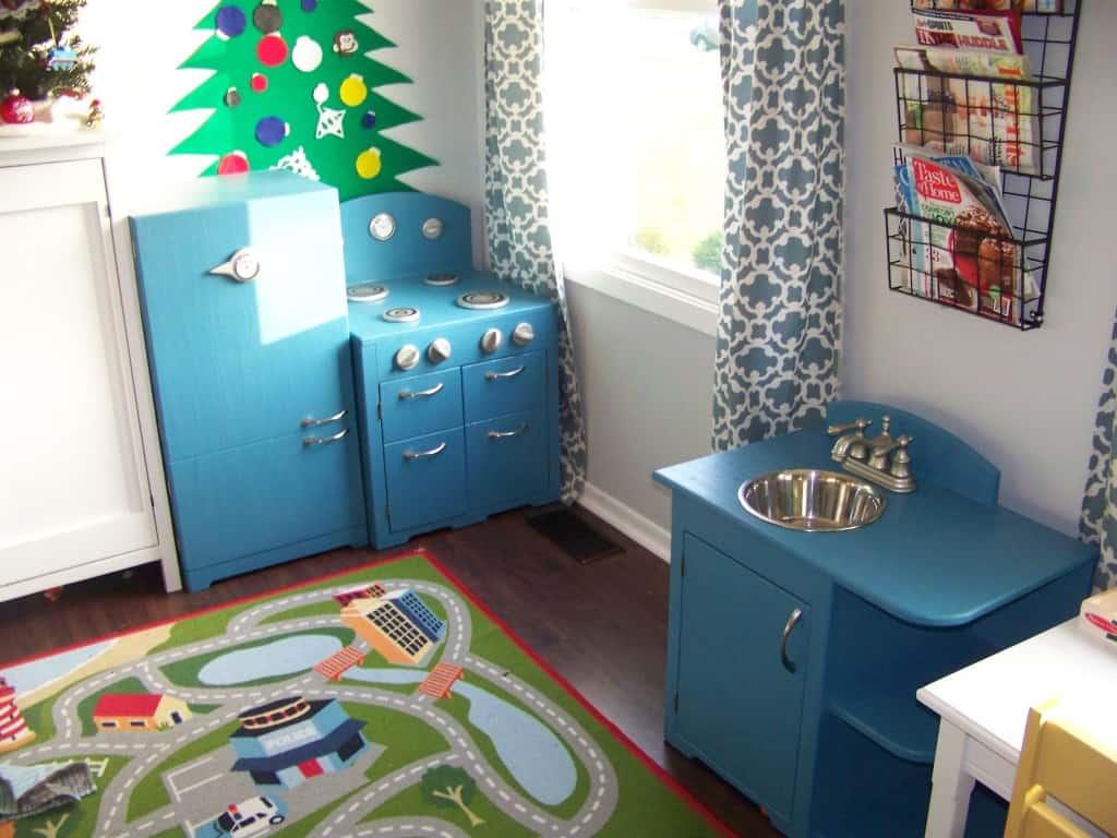 DIY Play Kitchen For Mary Martha Mama