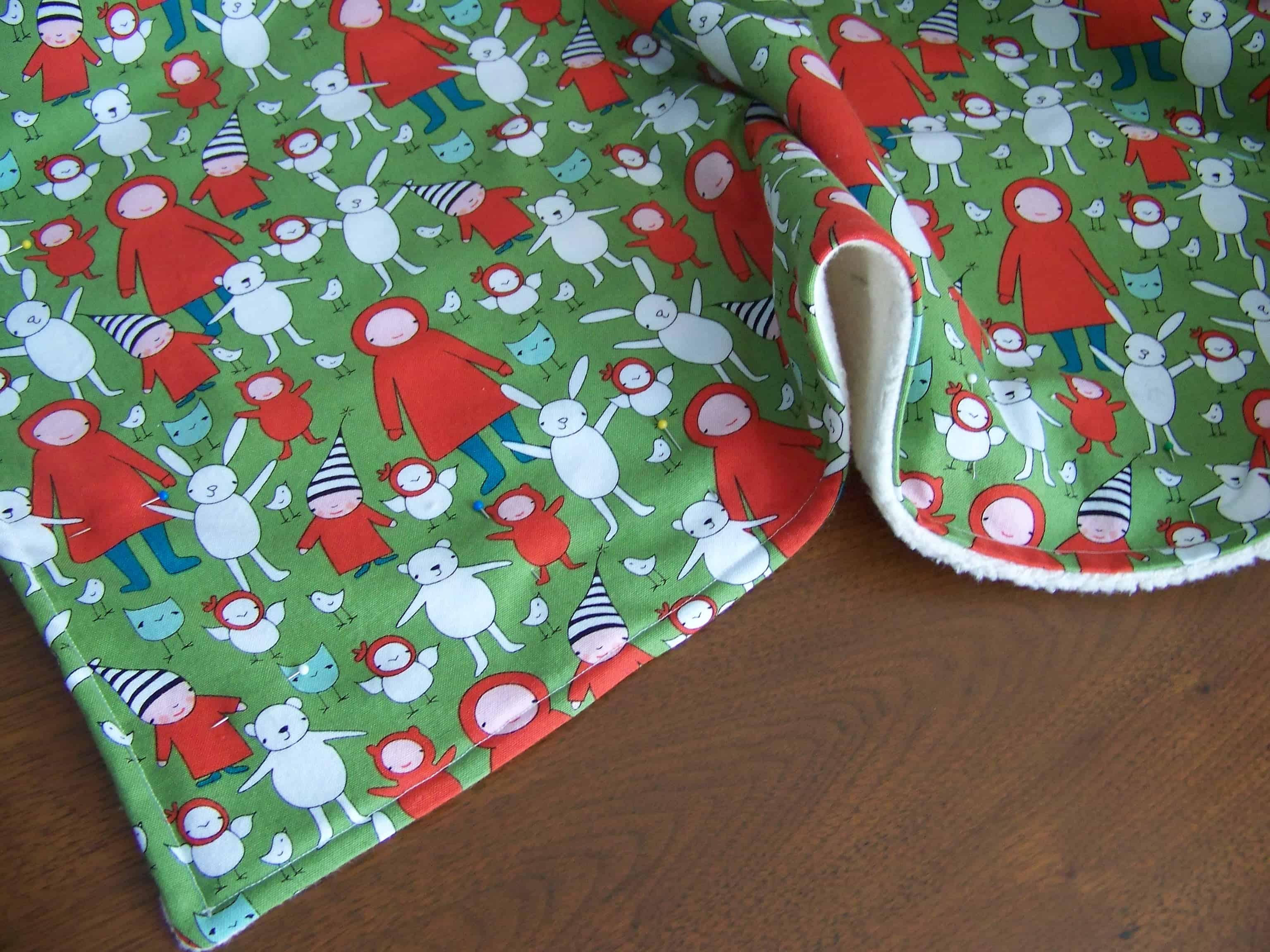 Easy Diy Baby Blanket Tutorial Mary Martha Mama