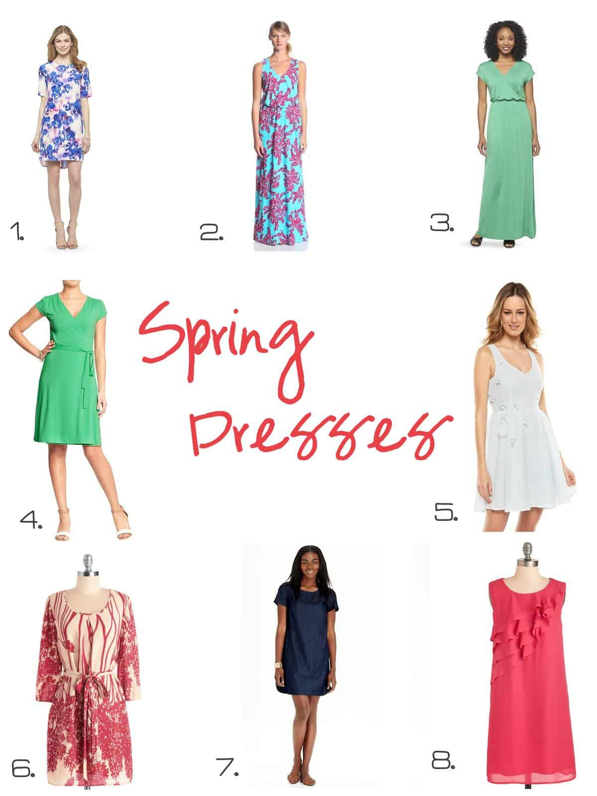 Spring Fashion Faves