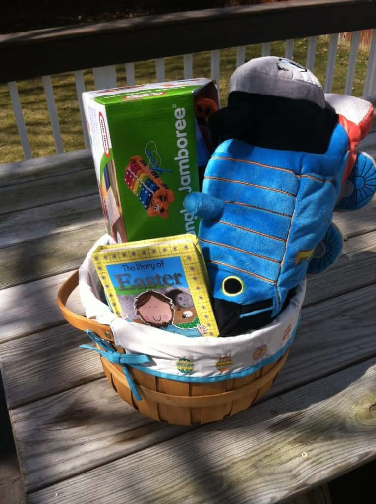 1 and half year old easter basket