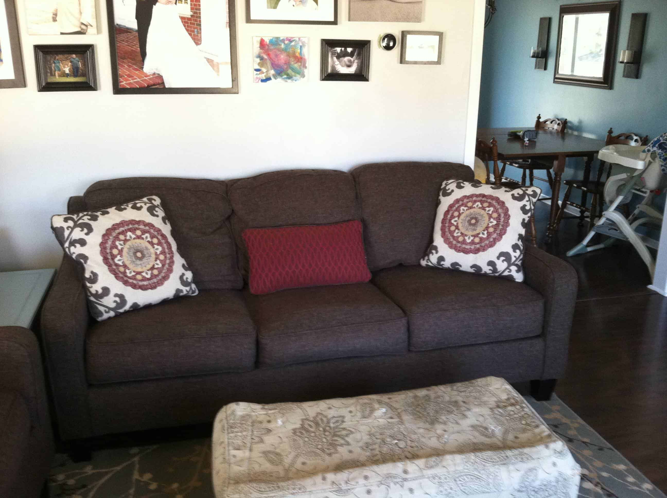 Ashley Furniture Dinelli Sofa & Love Seat Review – Mary Martha Mama