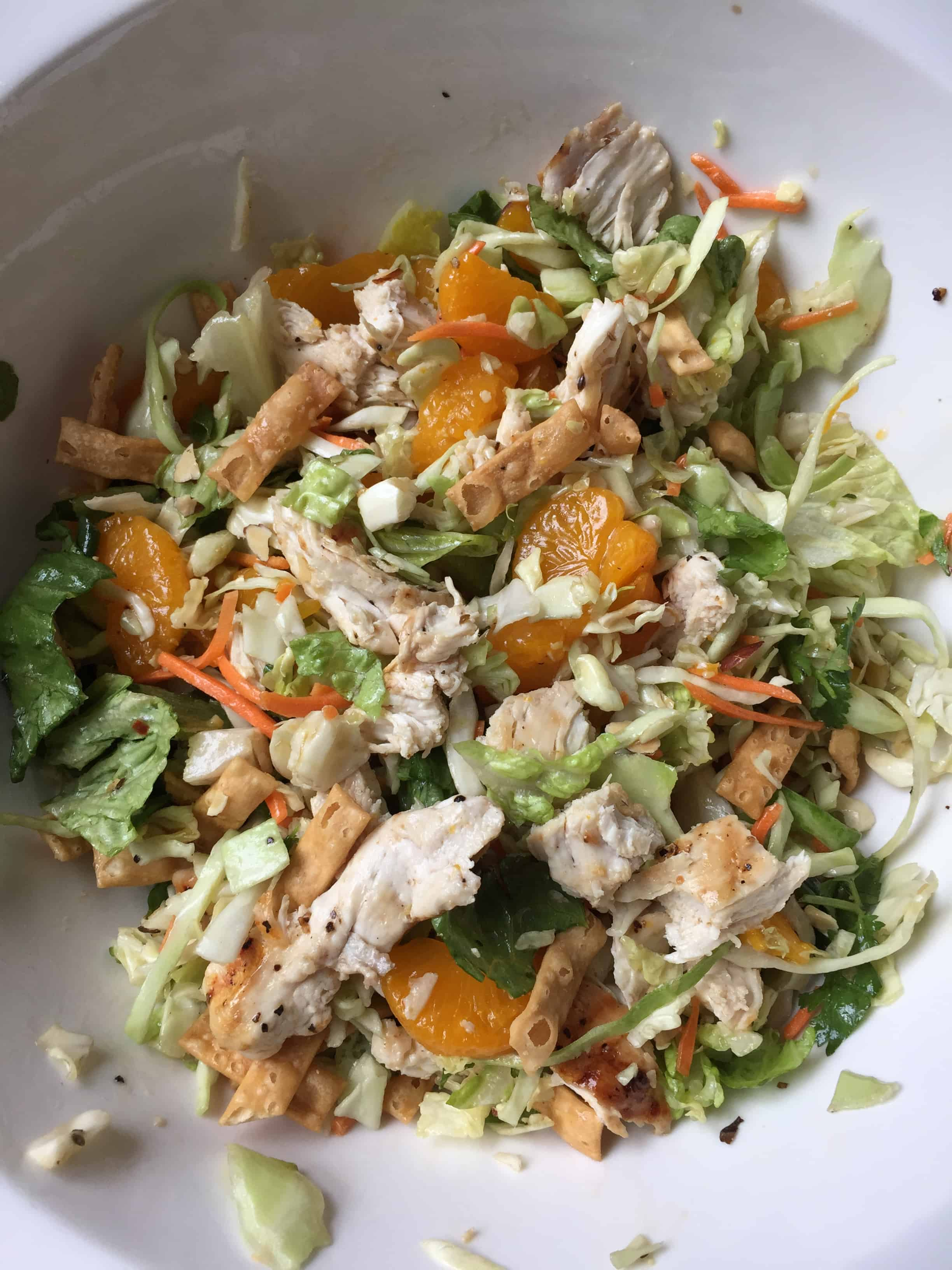 oriental chicken salad recipe
