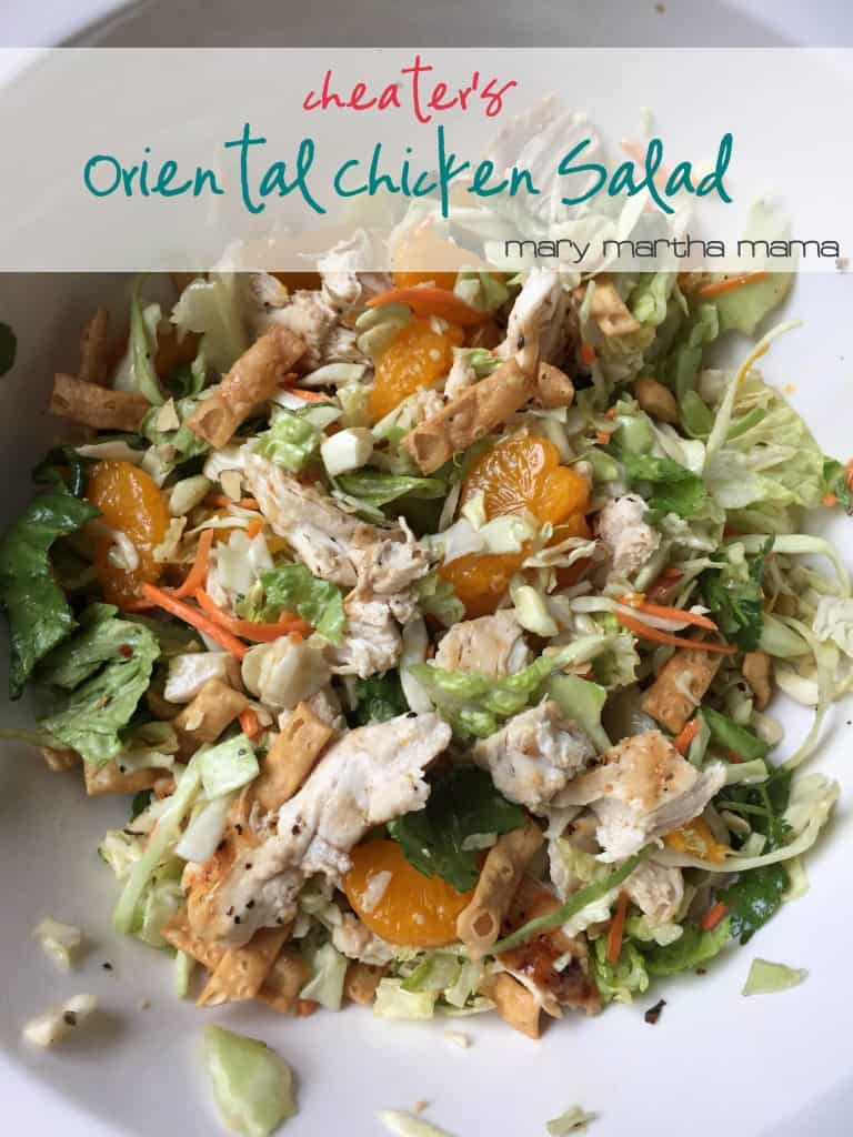 cheaters oriental chicken salad