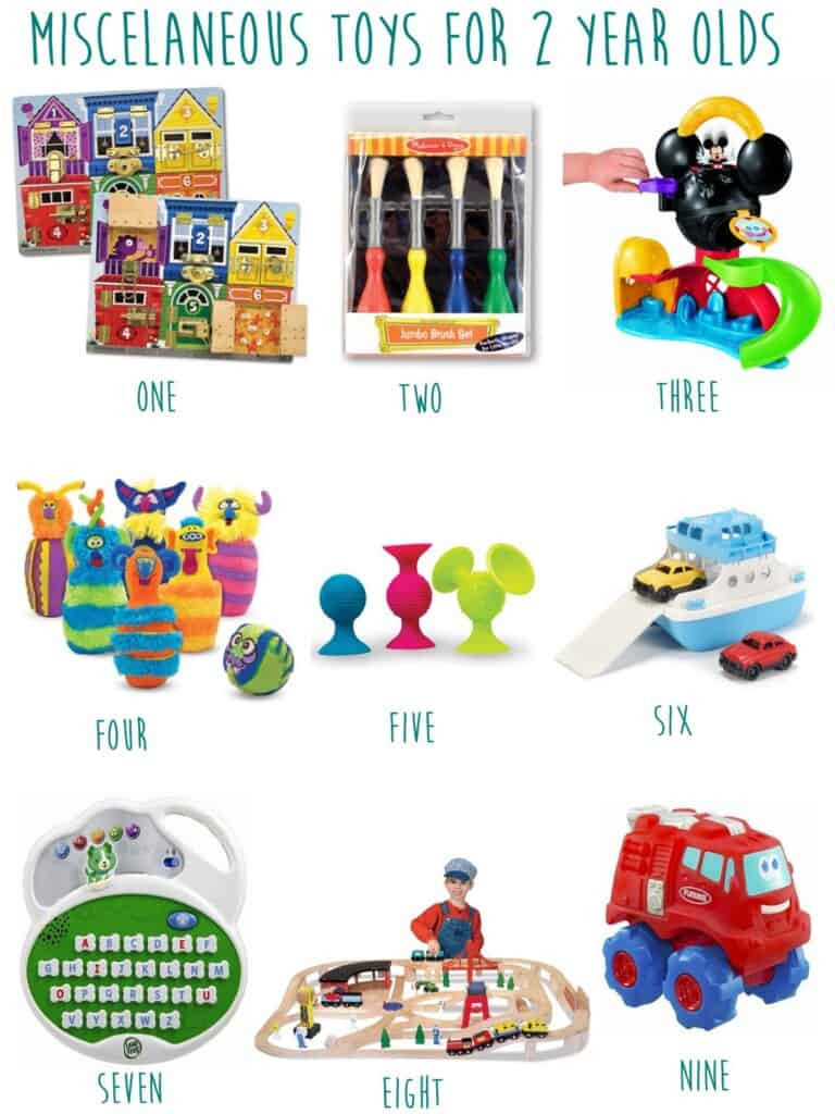 2 year old toy guide misc