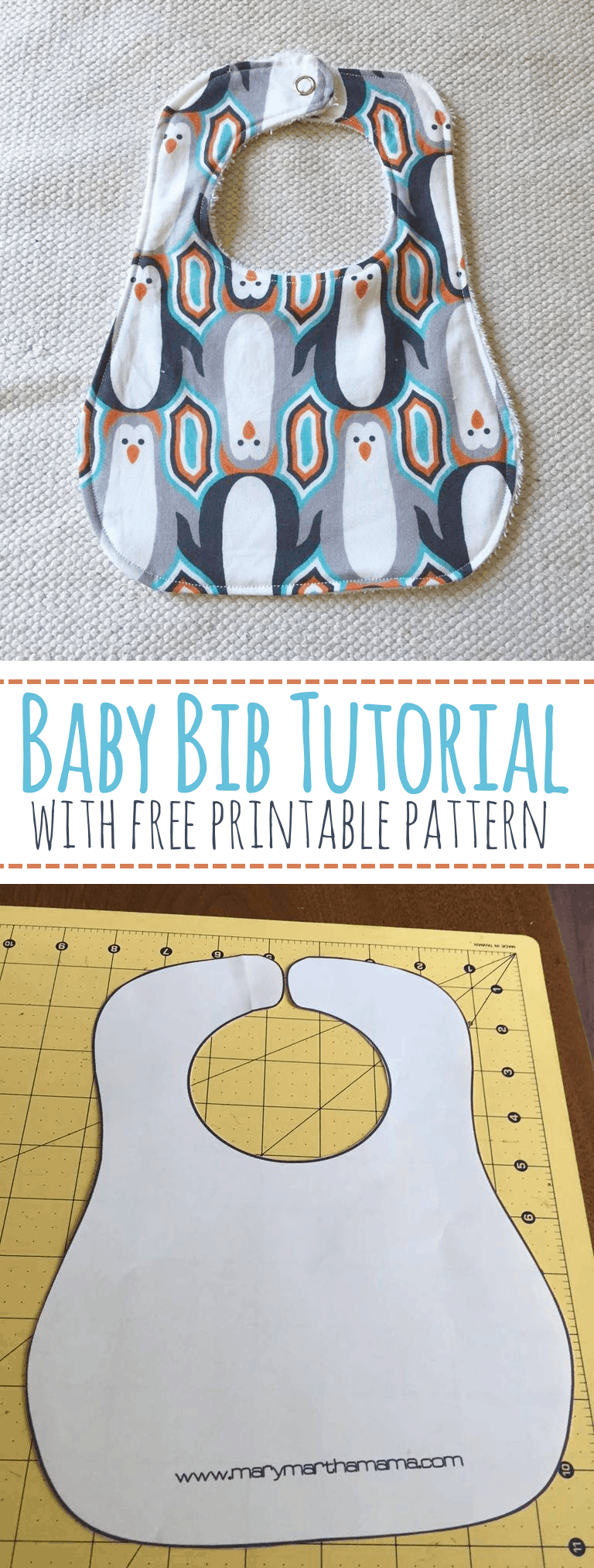 This is a graphic of Striking Baby Bib Pattern Printable
