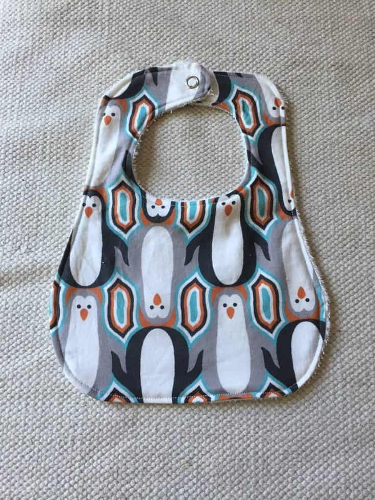 Baby Bib Pattern and Step by Step Tutorial