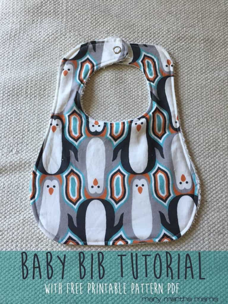 bib tutorial printable pattern pinterest