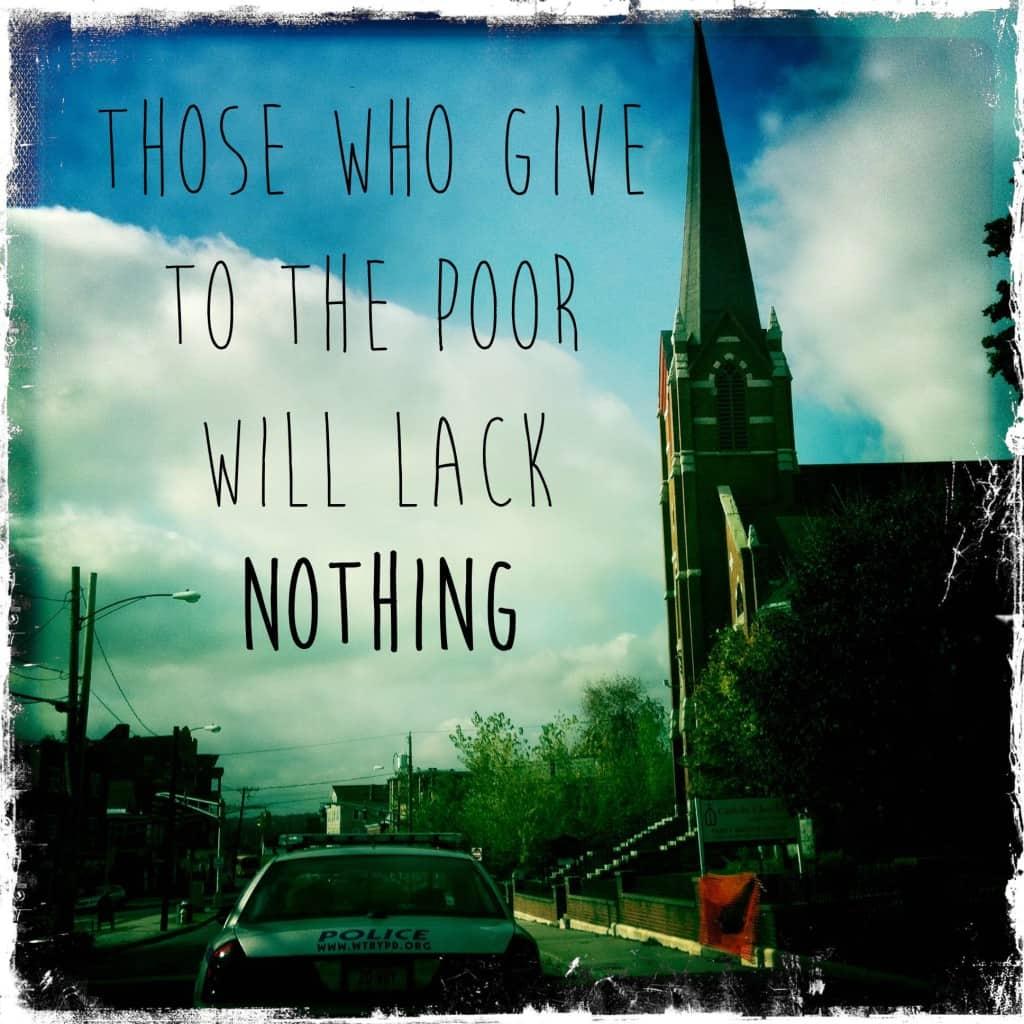 proverbs 28 27