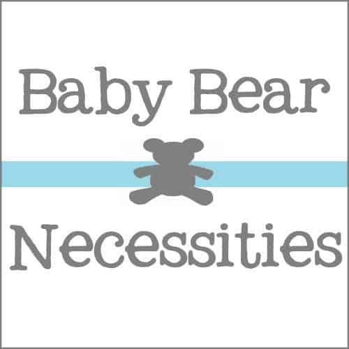 baby bear necessities new square logo with border