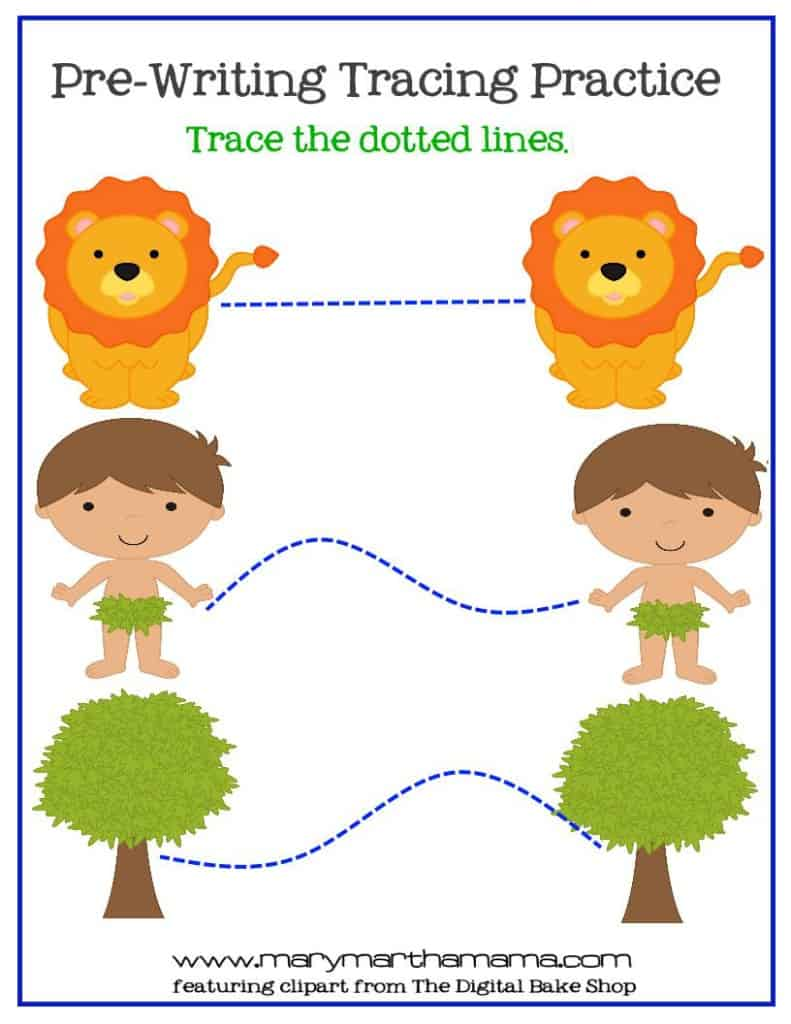 creation prek pack tracing 1