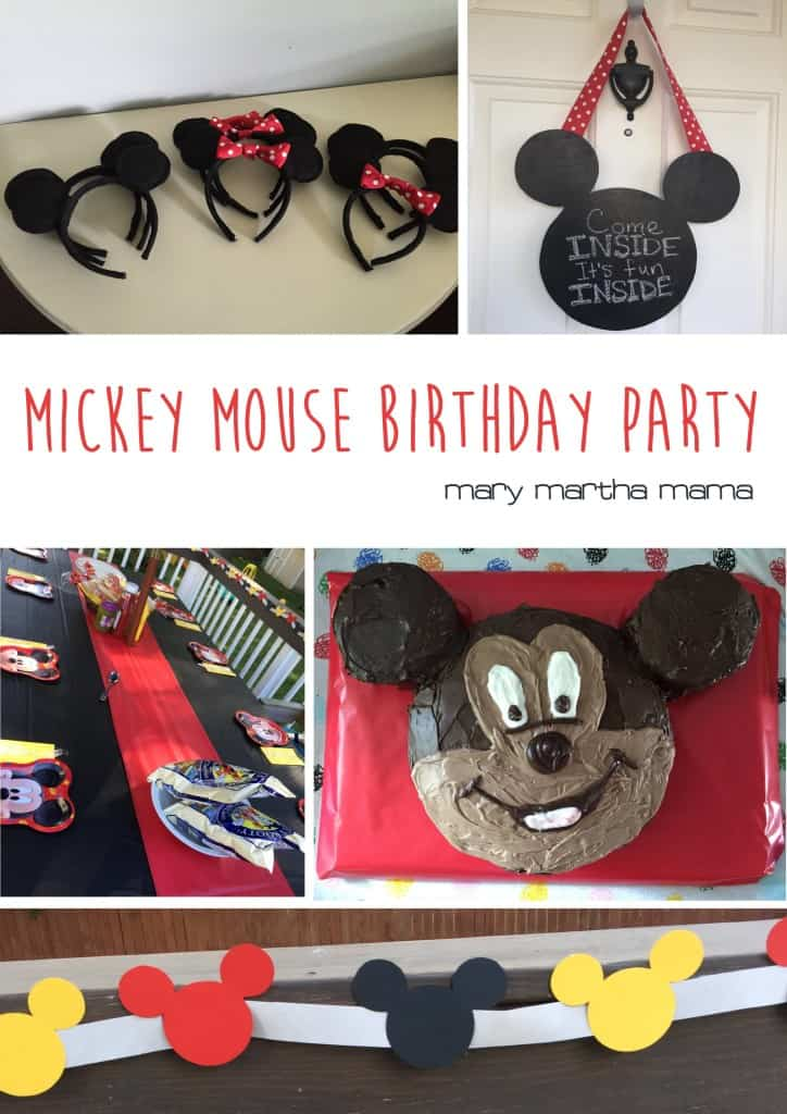 mickey mouse party pinterest
