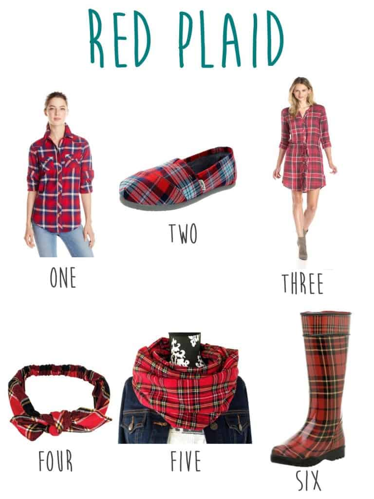 fall 2015 red plaid