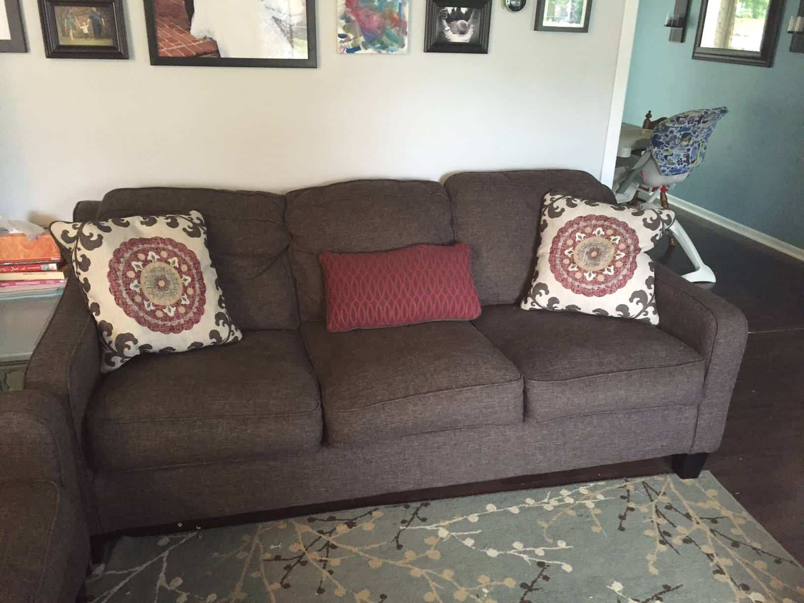 ashley denilli sofa 1 year c