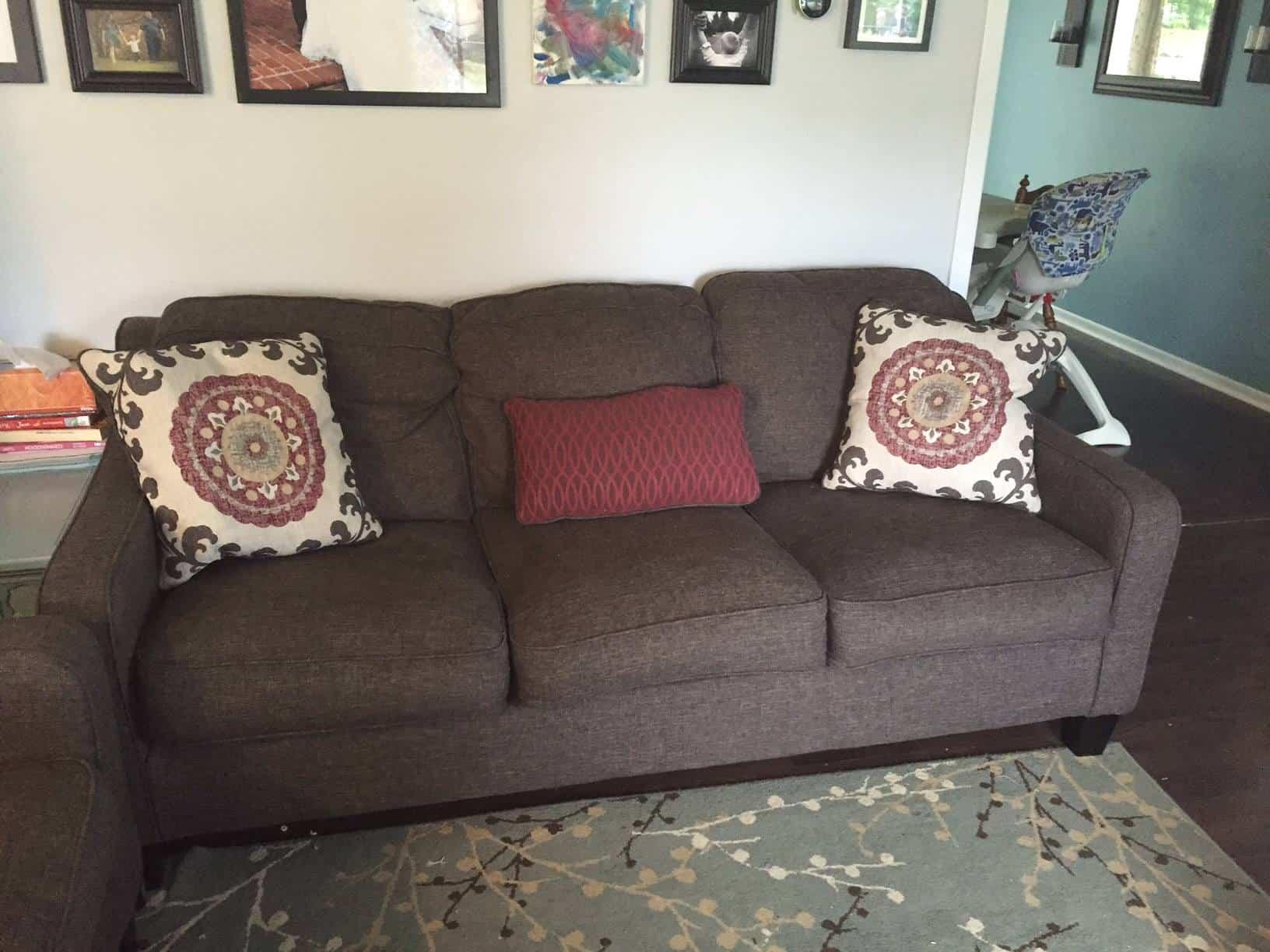 ashley denilli sofa 1 year c