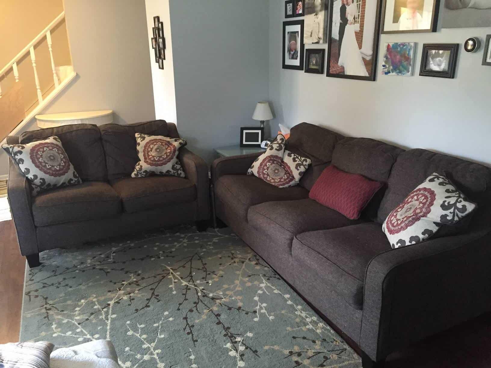 ashley dinelli sofa 1 year b