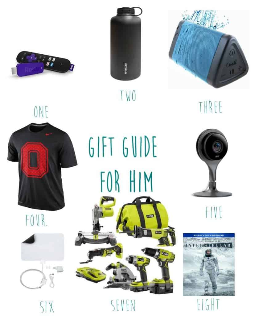 christmas gift guide him