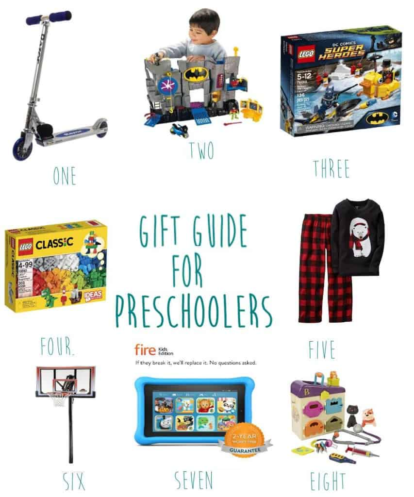 christmas gift guide preschooler