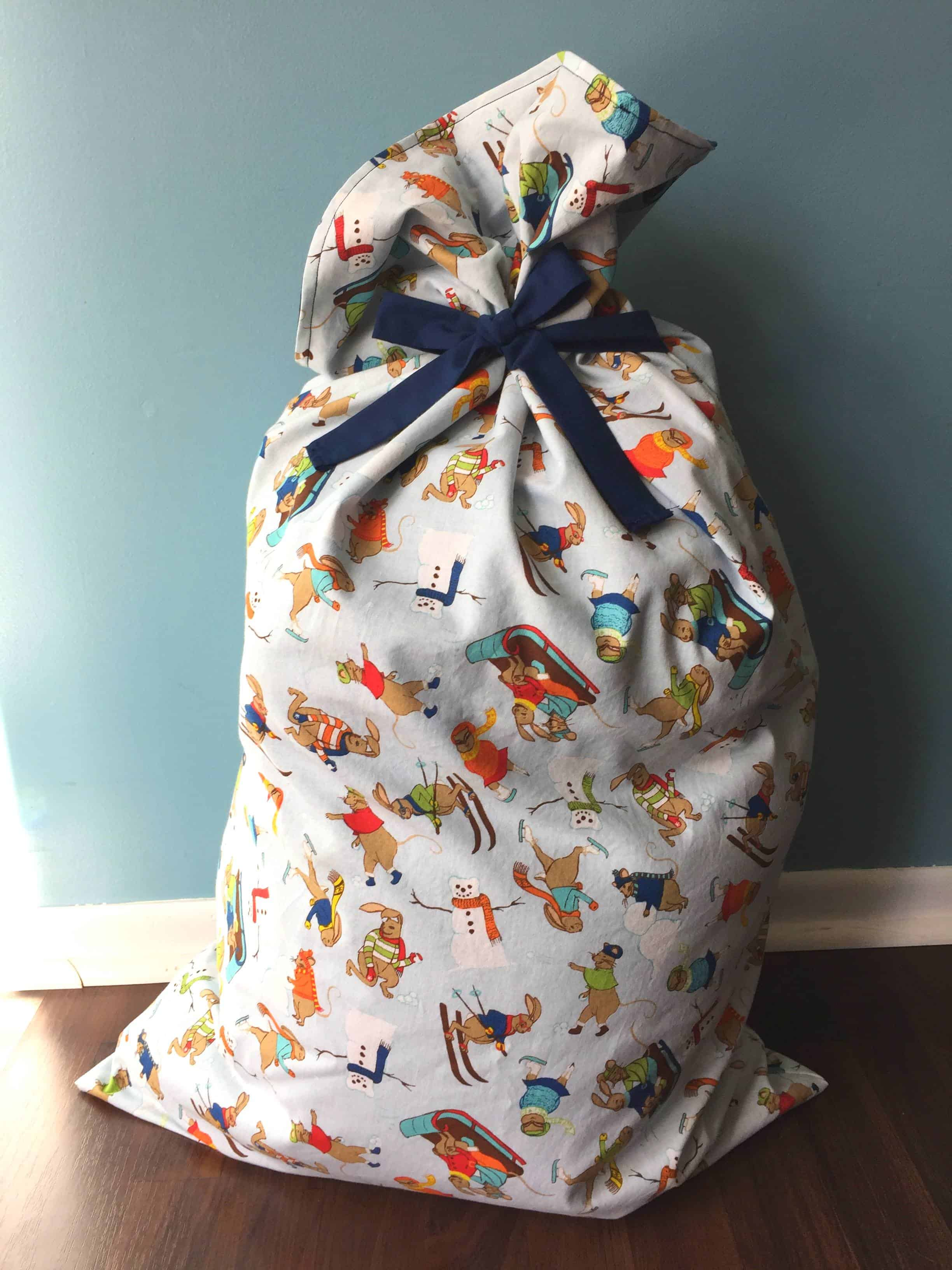 how to make a sack bag