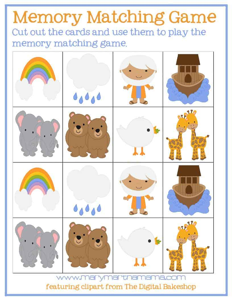 photo regarding Noah's Ark Printable titled Noahs Ark Routines [Free of charge Printables] Mary Martha Mama