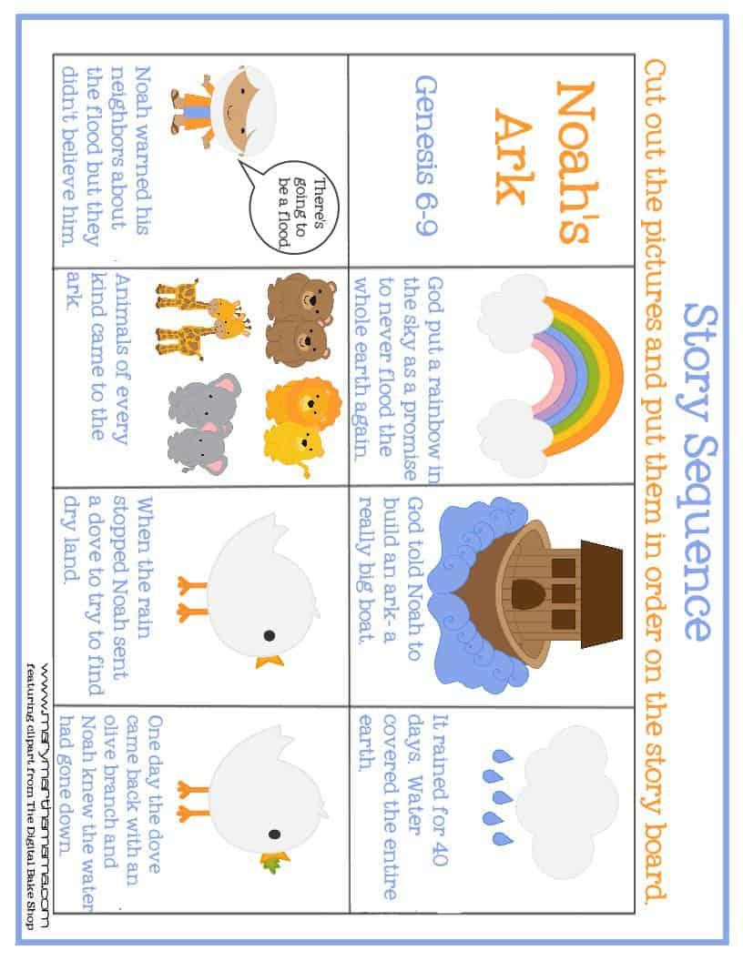 1 sticker dot net - Pics Photos Free Noah S Ark Preschool Pack