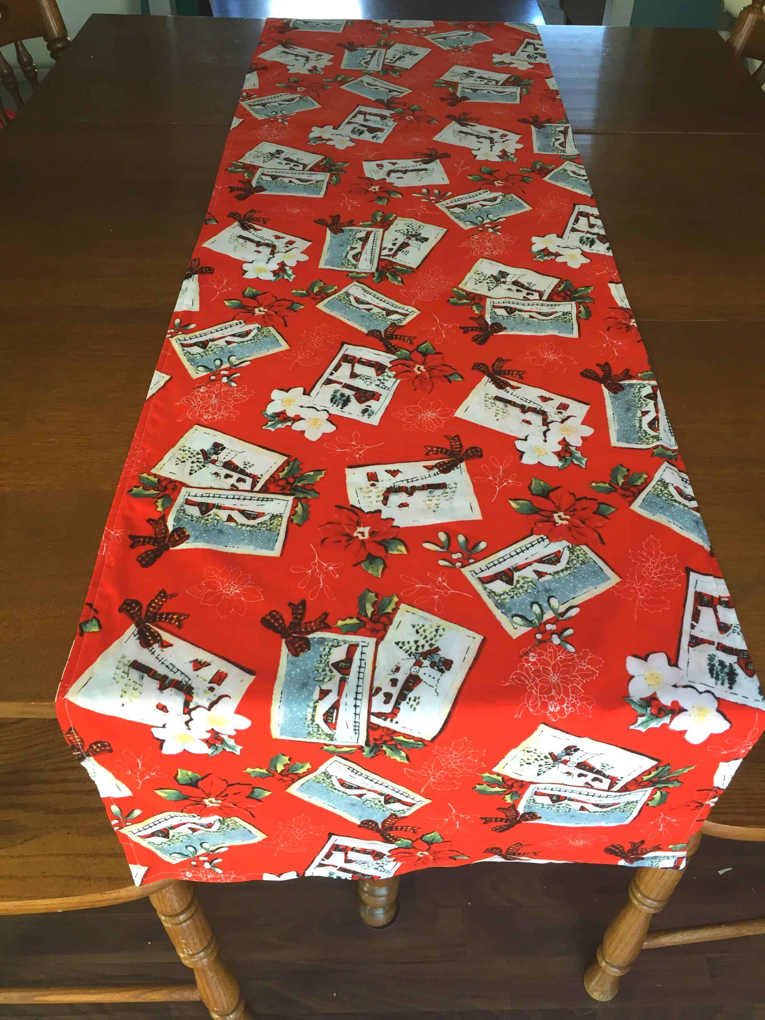 Easy Table Runner Tutorial Mary Martha Mama