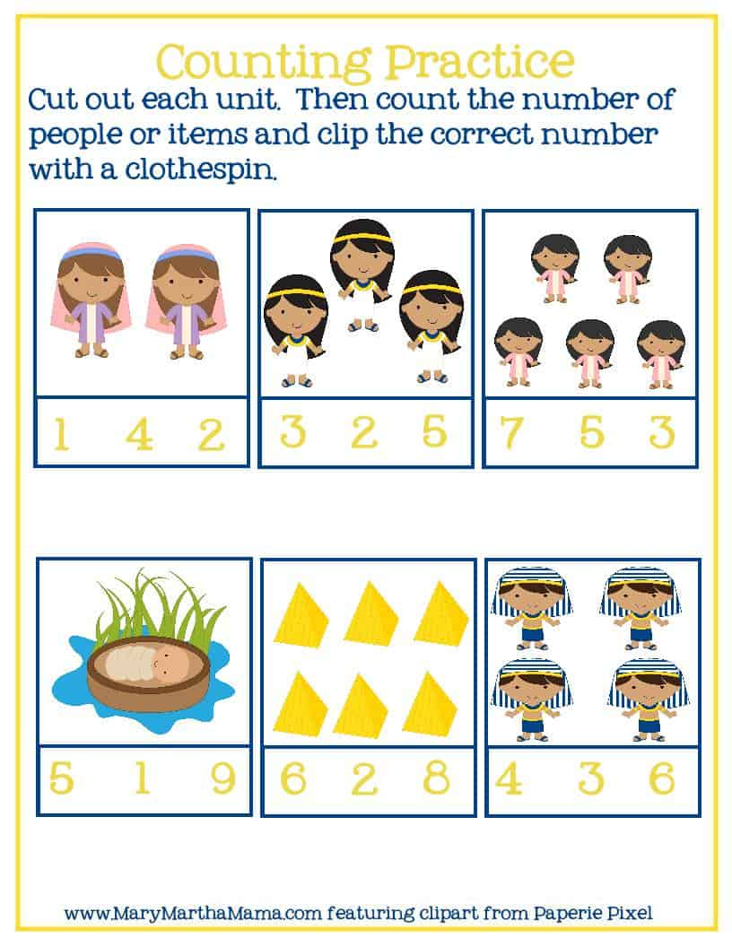 counting practice page