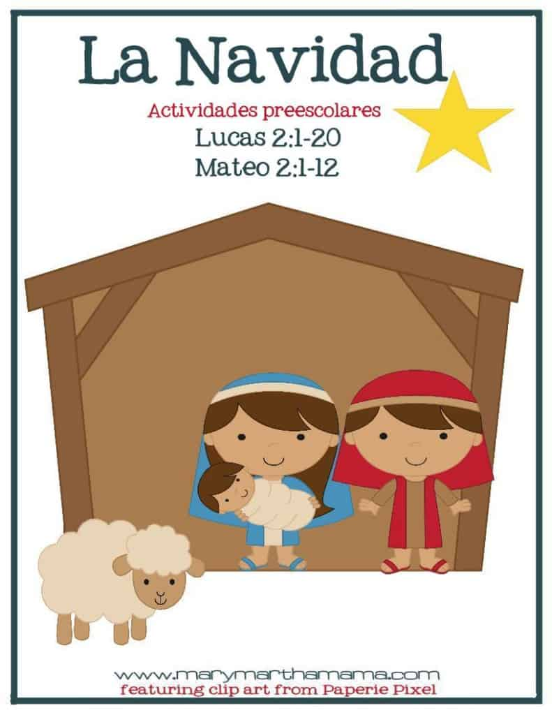 christmas prek pack spanish cover