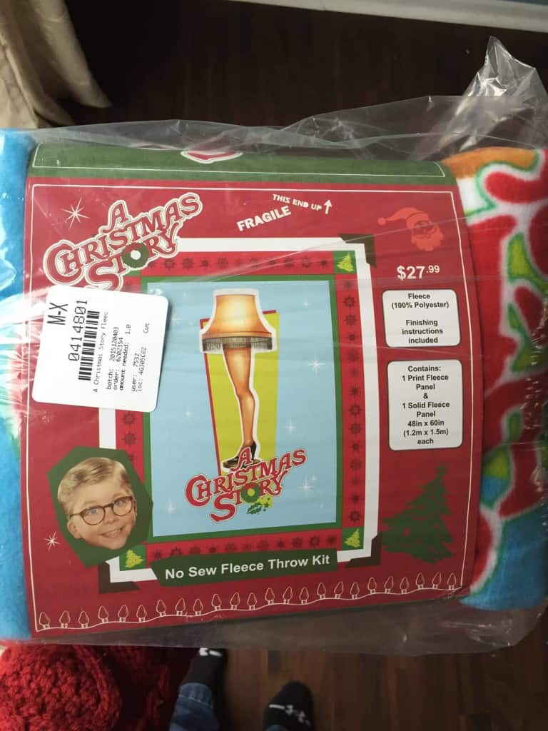leg lamp blanket kit