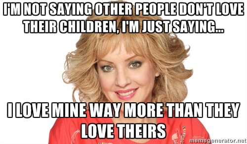 beverly goldberg meme loving kids