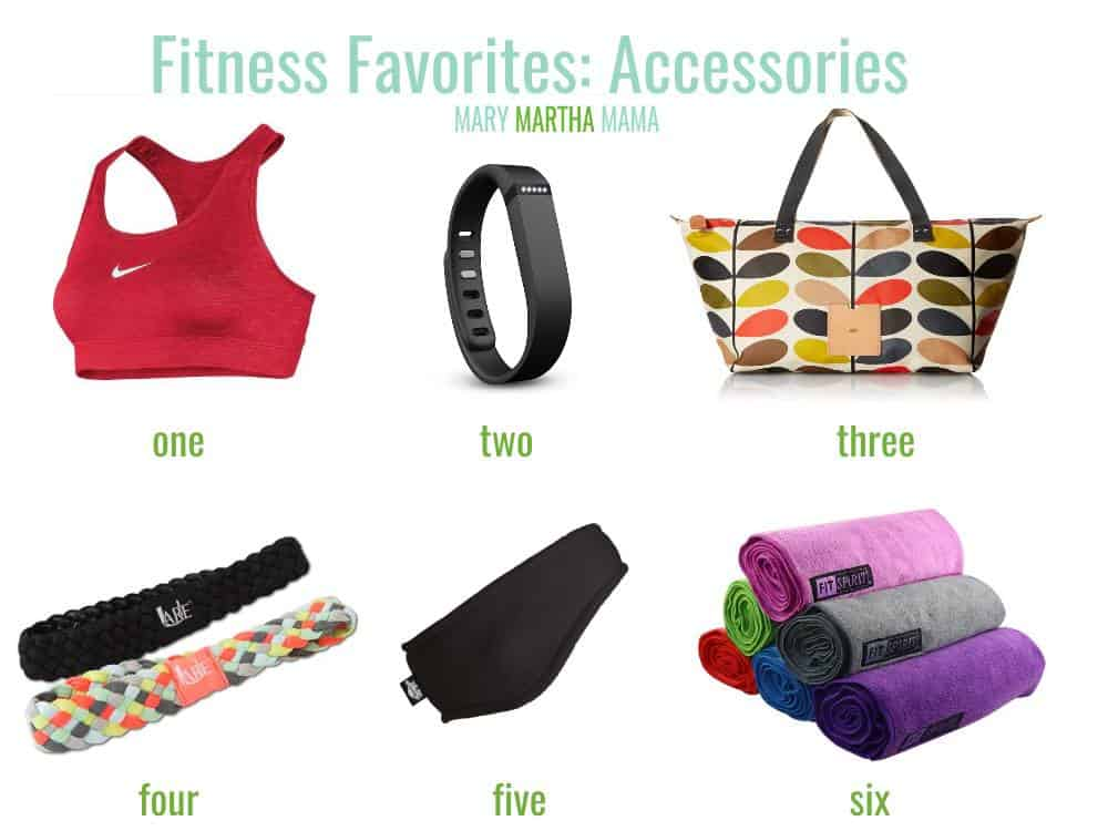 fitness friday accessories