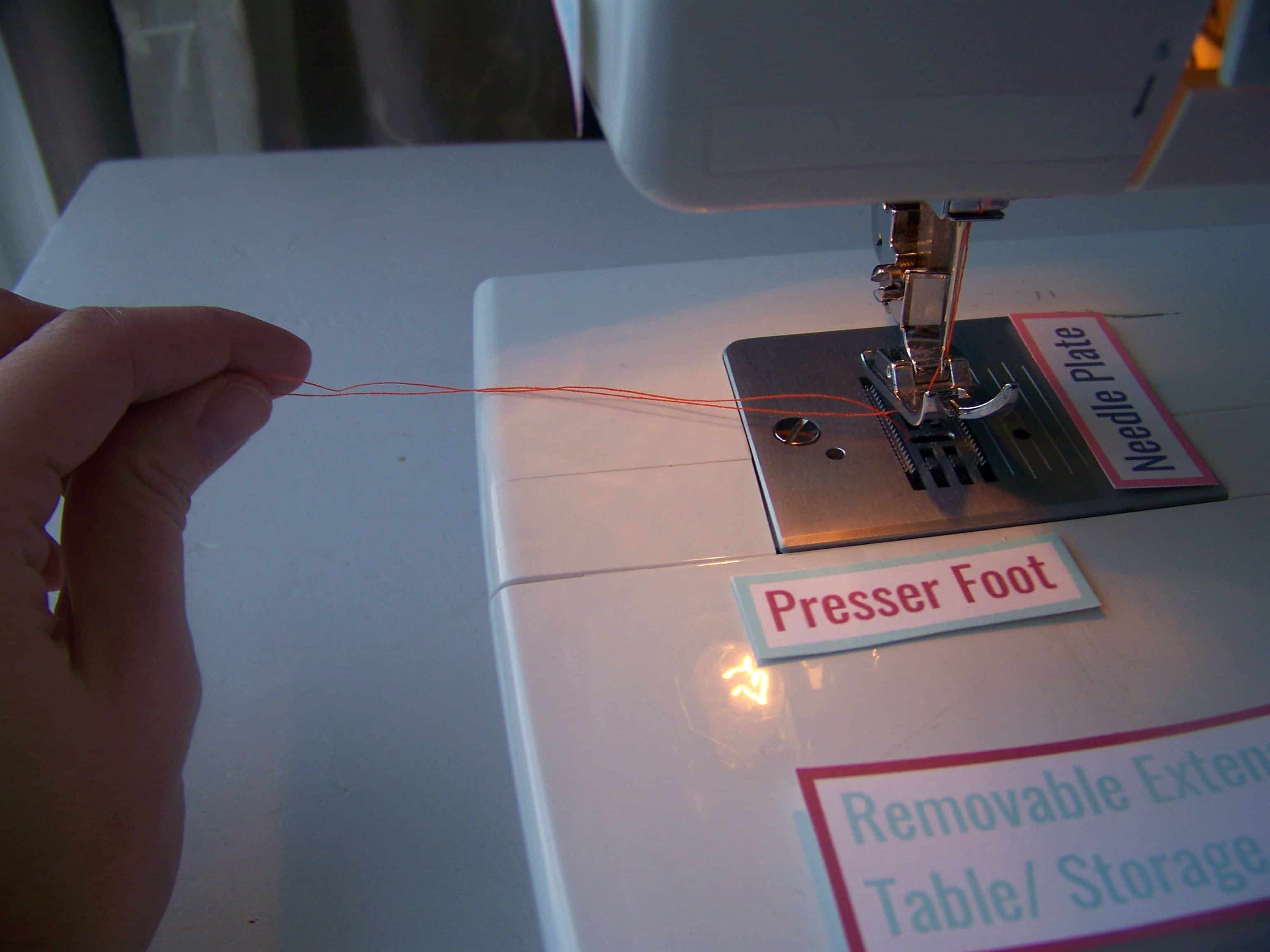 Sewing 101 Lesson 2 Getting To Know Your Machine Mary Thread A Diagram Labeled Save