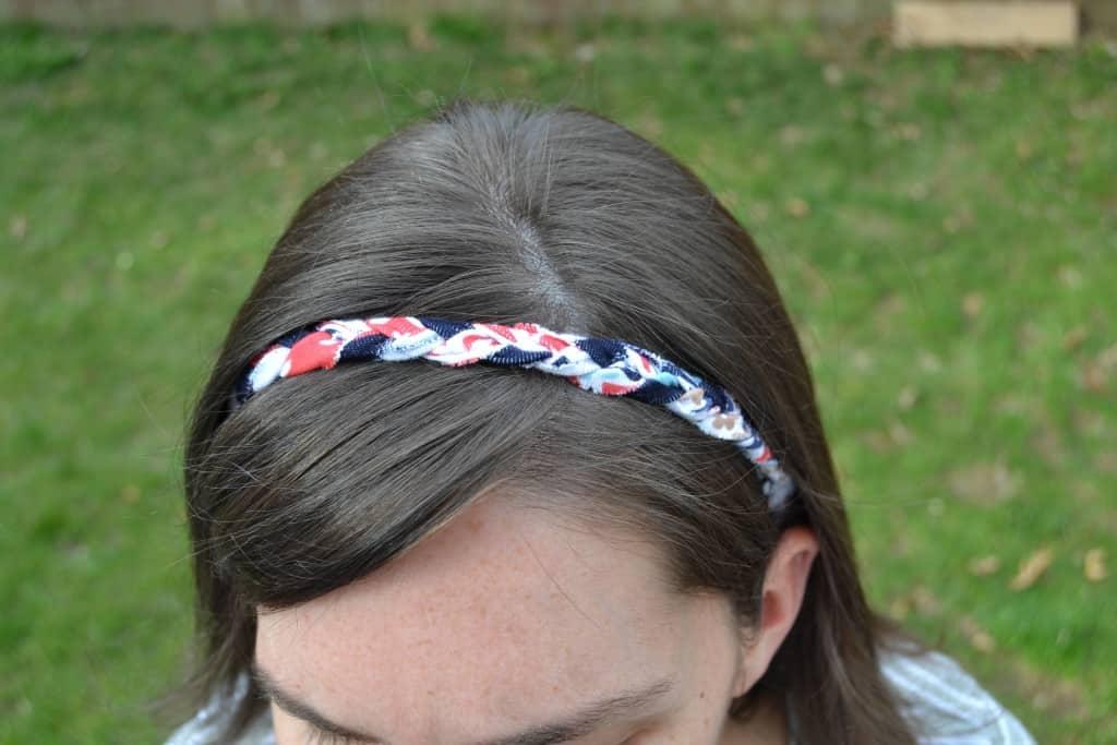 braided headband tutorial 7
