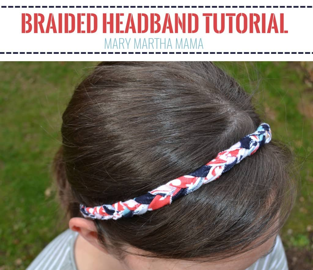 braided headband tutorial pin
