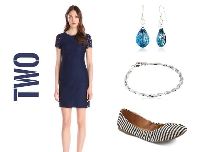 easter look navy solid