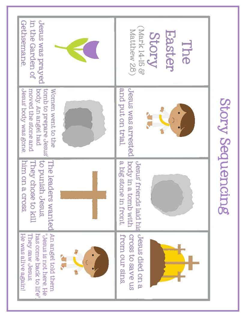 Easter Preschool Pack of Printables – Mary Martha Mama