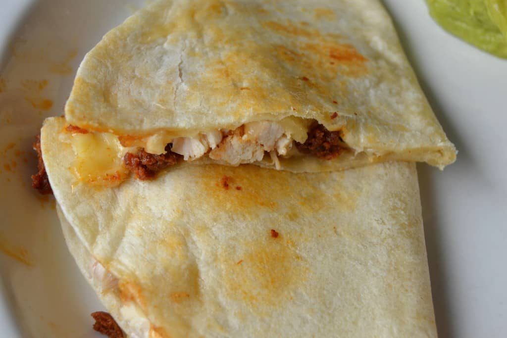 chicken chorizo quesadillas 8