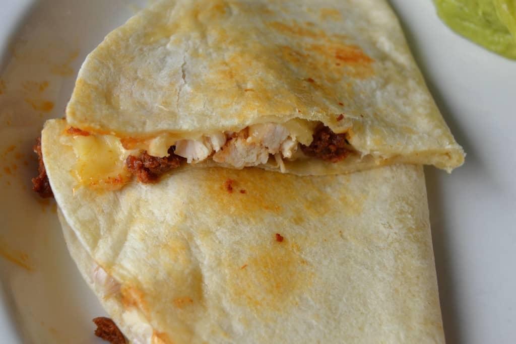 chicken chorizo quesadillas 8