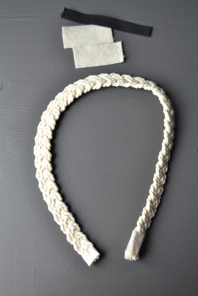 easy diy rope headband 12