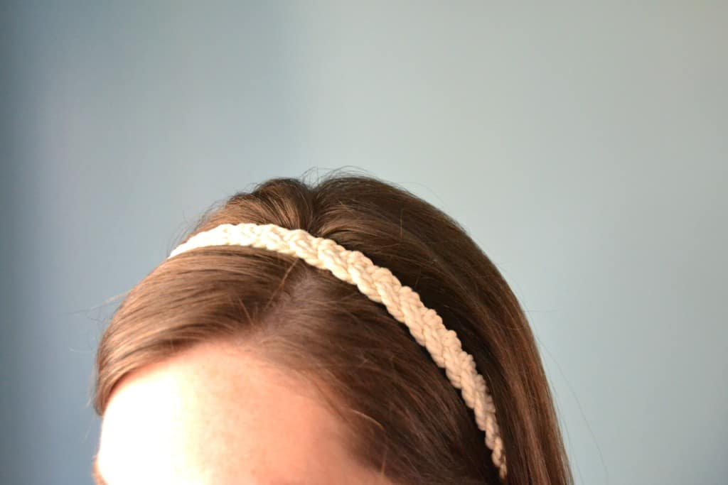easy diy rope headband 2