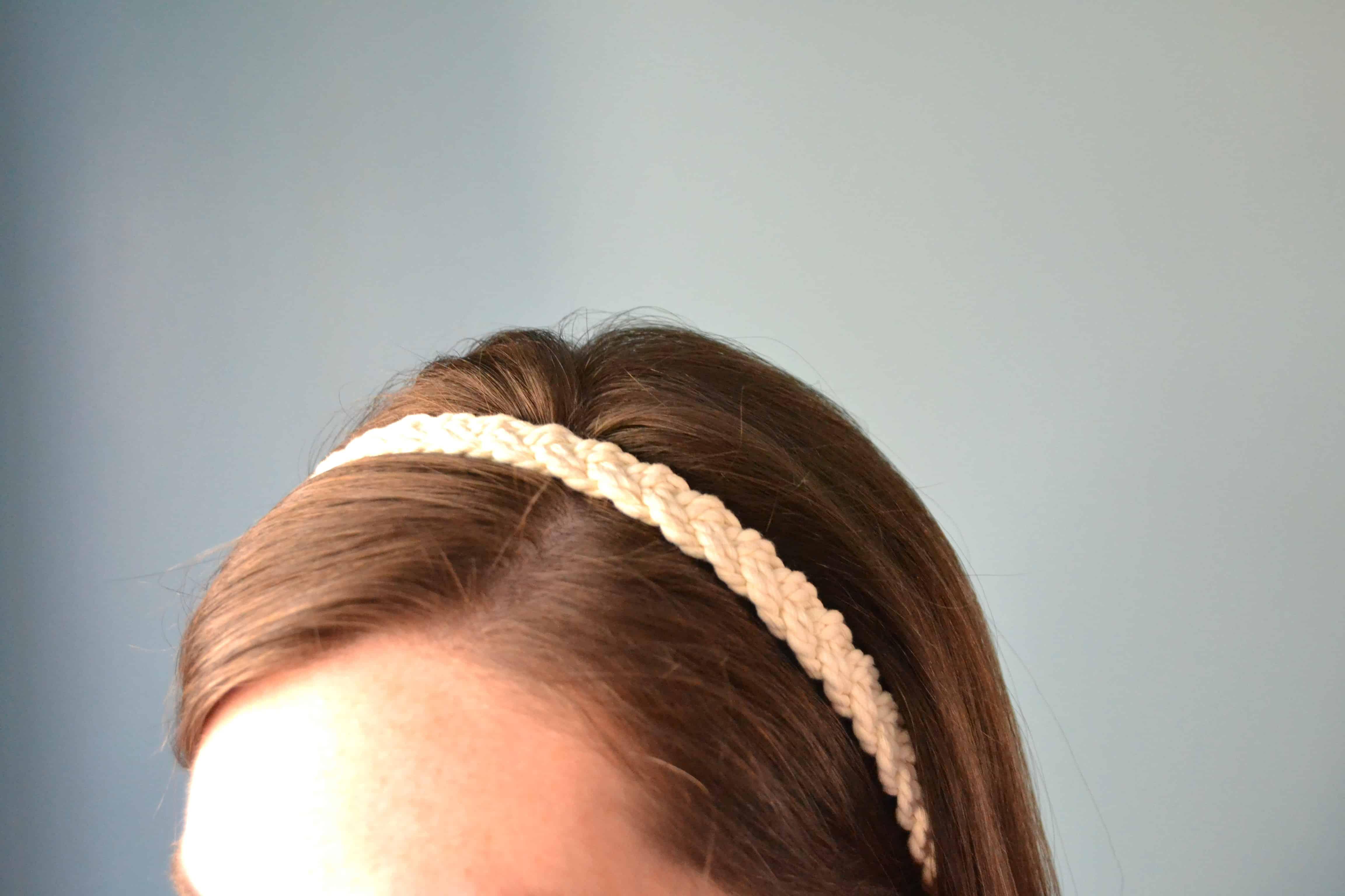 Easy DIY Rope Headband
